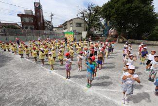 金の峯幼稚園運動会開催のお知らせ